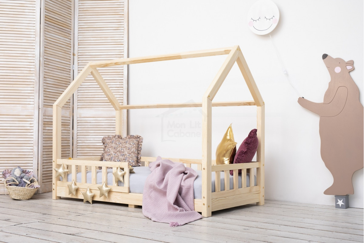 Fabriquer Lit Cabane Montessori lit cabane k - monlitcabane