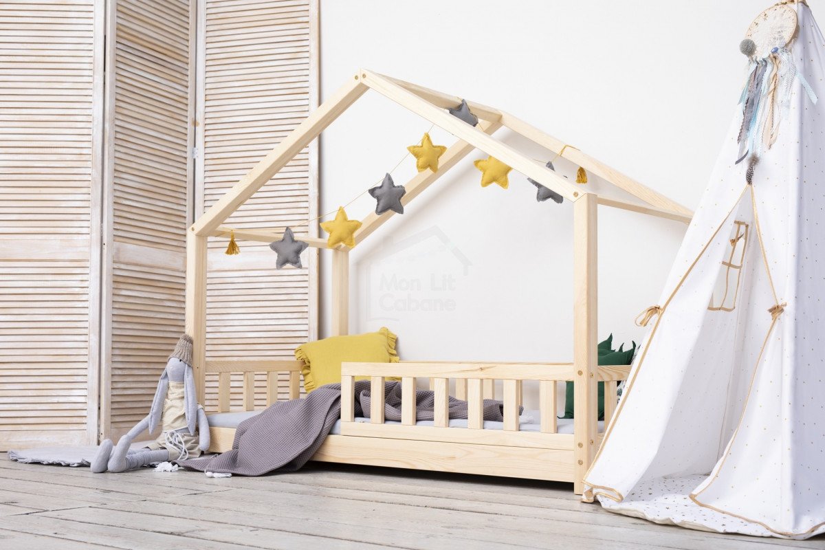 Fabriquer Lit Cabane Montessori lit cabane dk - monlitcabane