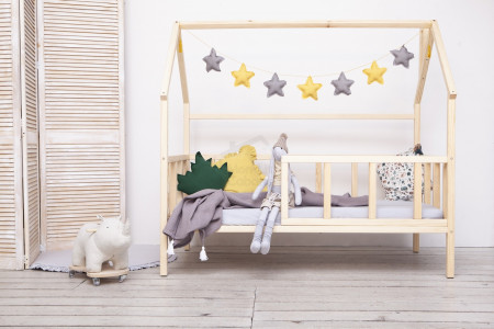 House Bed WH 90x160cm