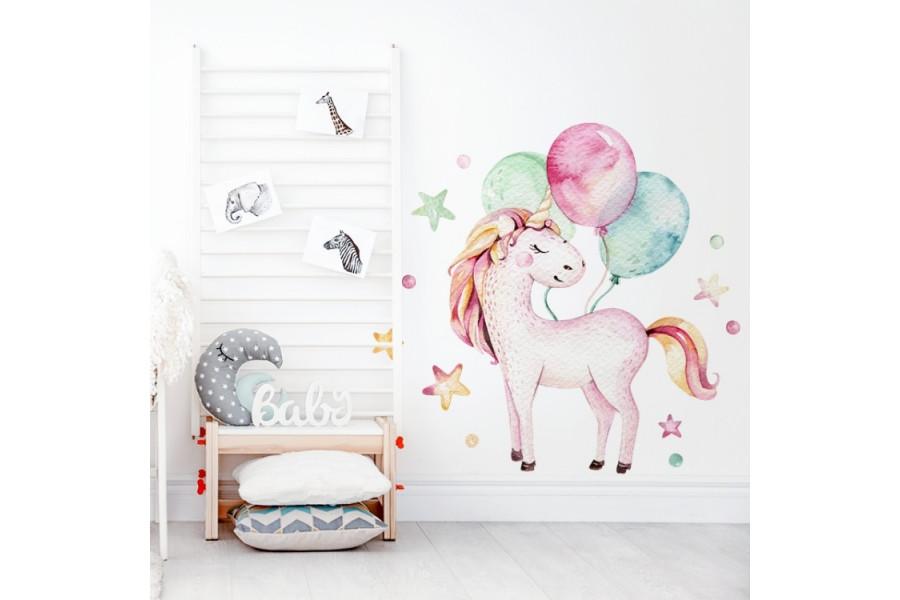 Unicornio y Globos