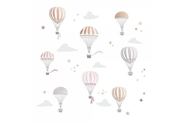 Ballons avec nuages III