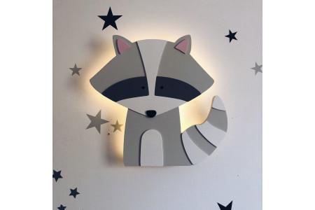 Raccoon Lamp