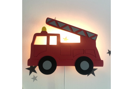 Lámpara Camión de Bomberos