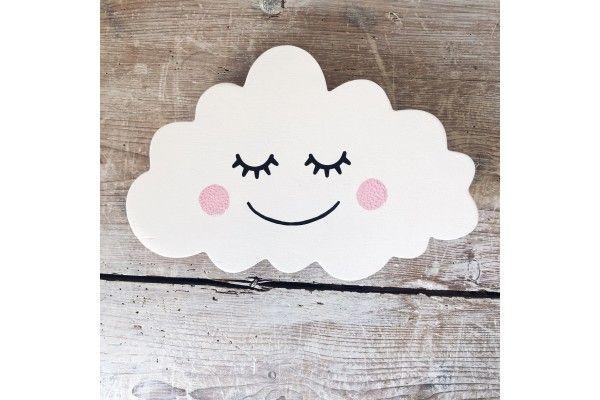 Nuage souriant