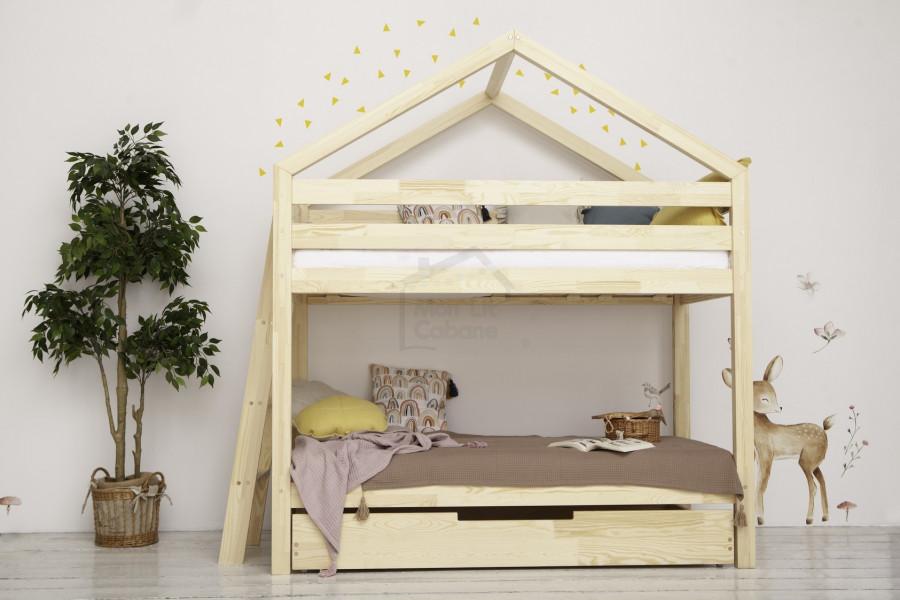 Camera dei bambini: letto a castello | Il Mio Letto Capanna