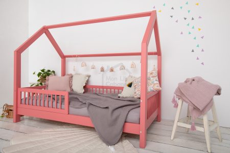 House Bed B Old Pink