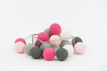 Guirlande Lumineuse Pink Rocks