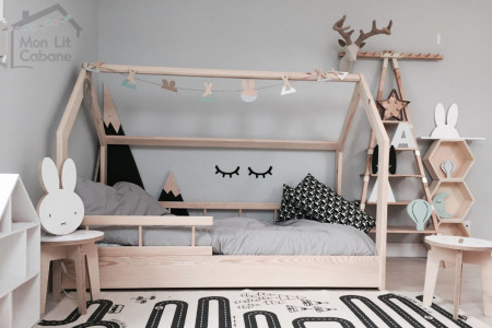 House Bed H 90x190cm