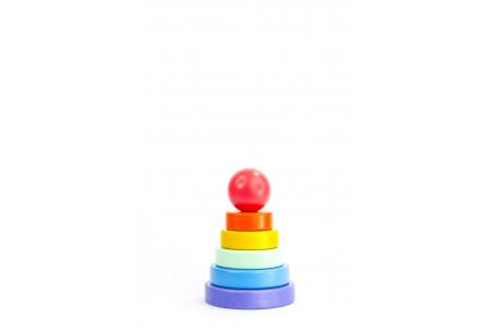 Rainbow pyramid