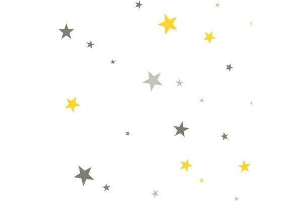 Estrellas turquesas y grises