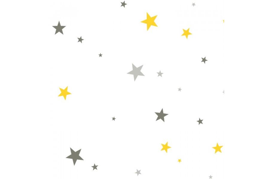 Estrellas Amirillas y Grises