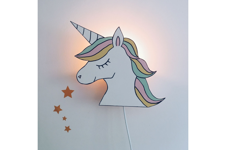 Lámpara Unicornio