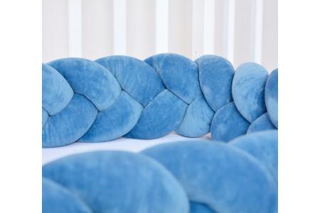 Petrol Blue Bed Bumper