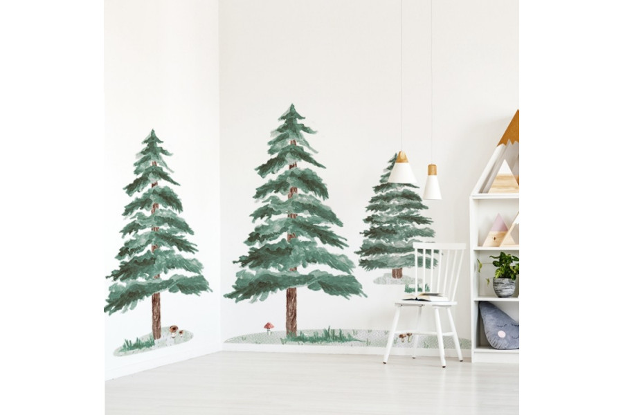 Set of 3 Pine Trees