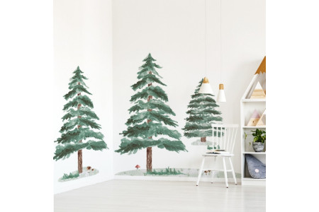 Set of 3 Pine Trees