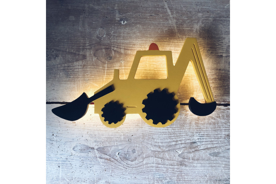 Lámpara Tractor