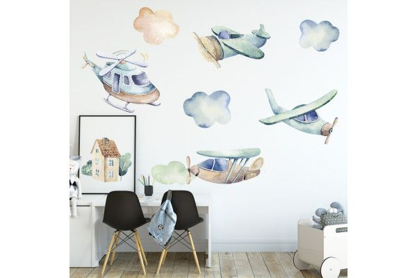 Aviones et nuages