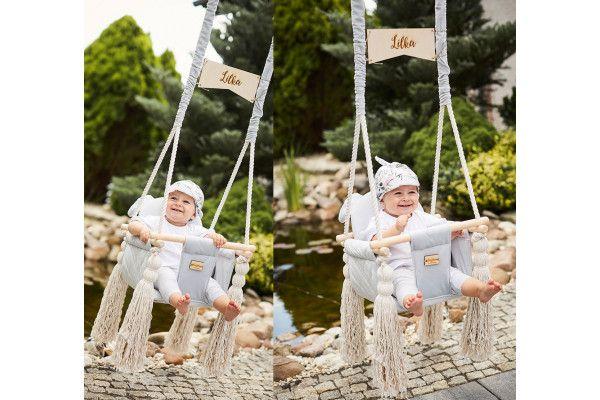 Velvet Swing Sky Grey