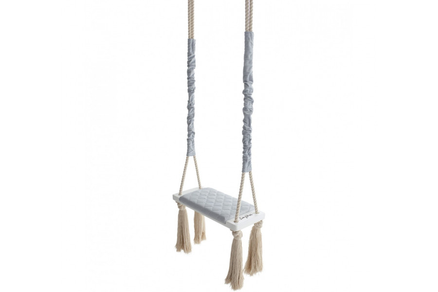 Wood Swing Grise