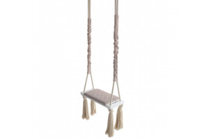 Wood Swing Soft Pink