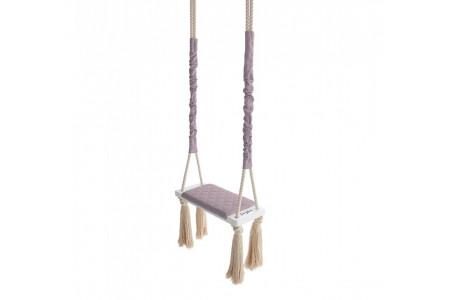 Vintage Pink Wood Swing