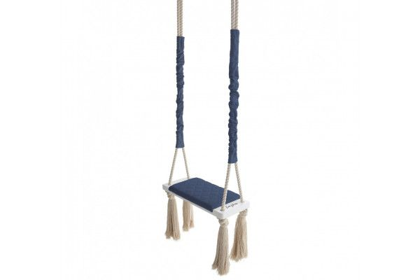 Wood Swing Blue Marine