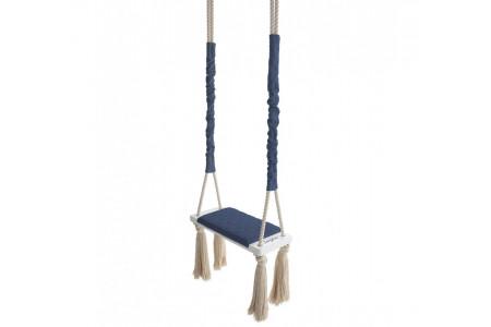 Night Blue Wood Swing