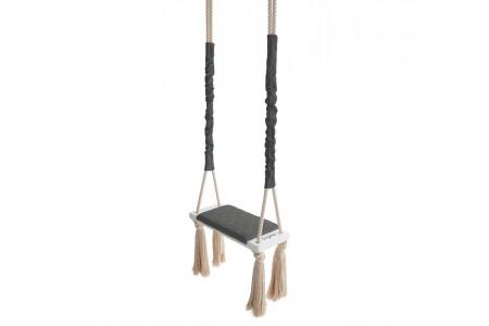 Wood Swing Dark Grey
