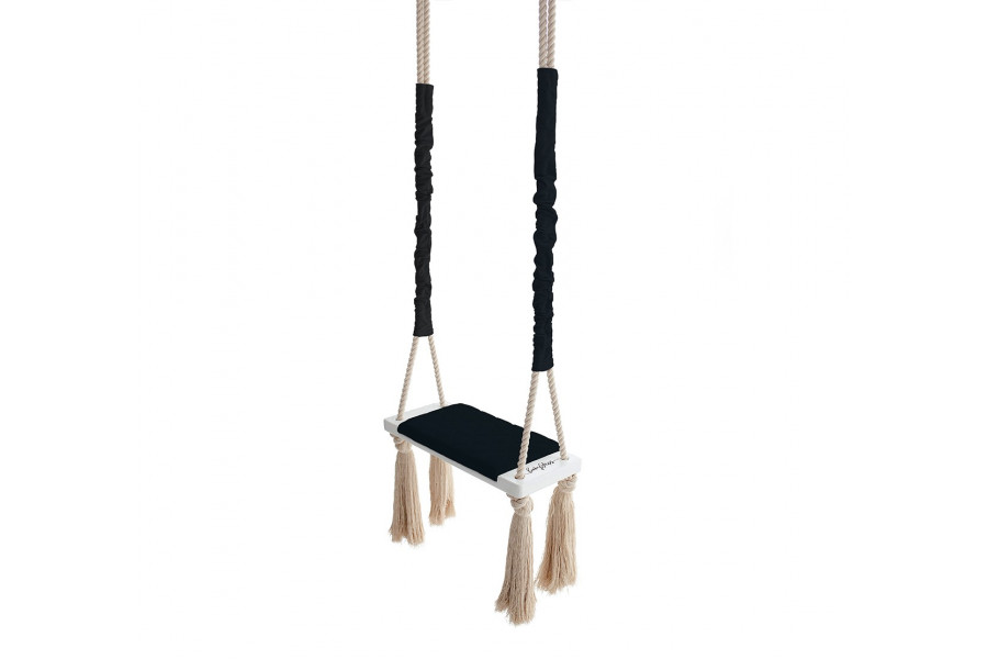Wood Swing Black