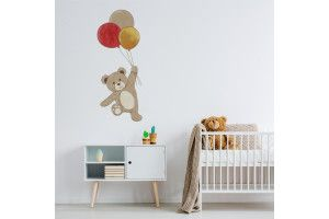 Teddy bear avec ballons