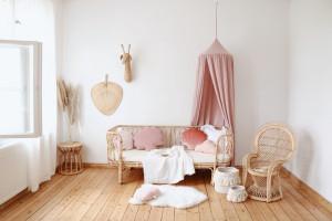Ciel de lit Baby Pink