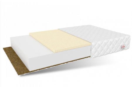 Colchón Fibra de Coco & Látex Perséfone 11cm