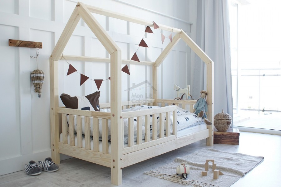 House Bed L 80 x180cm