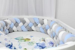Gris, blue clair, blanc