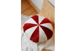 Coussin Candy Rouge