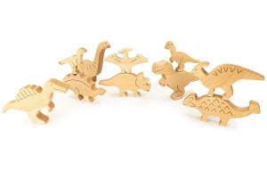Dinosaurs en bois