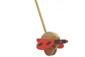 Push Toy Ladybird