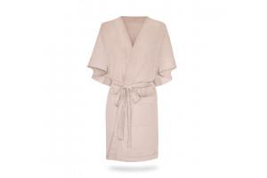 Kimono lin mélangé Rose Poudre