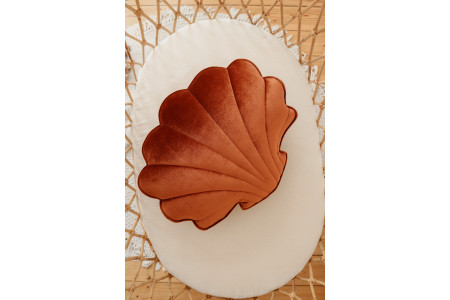 Copper Pearl Shell Cushion