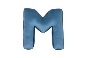 M - blue