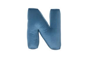 N - Blue