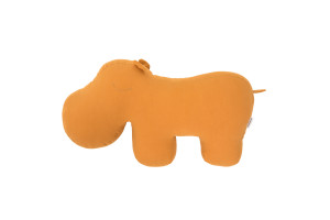 Coussin Hippo Jaune