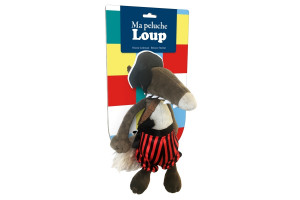 La peluche Loup Pirate