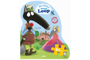 Ma boîte puzzle Loup - Contes et légendes