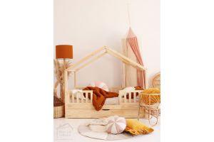 House Bed DWT 70x140cm