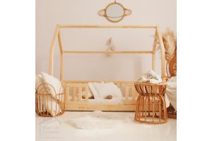 House Bed LW on Floor 90x190