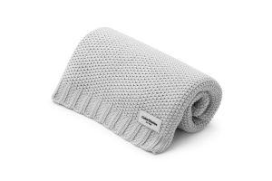 Light Grey Cotton Blanket