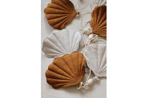 Guirnalda de lino Conchas