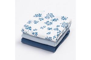 Blue Meadow Set of 3