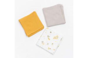 Set de 3 Lange Yellow Mellow